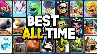 Top 13 Non-Legendary Cards of ALL TIME in Clash Royale!