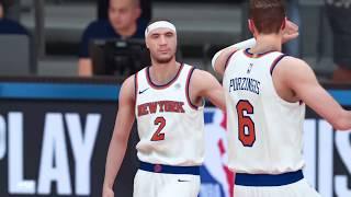 NBA 2K19 - MyCareer Mode - Knicks vs Pacers - PG - New York Knicks - PS4