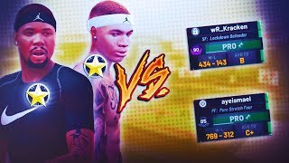"2 BROTHERS VS TRY HARD CHEESE LINEUP ""TRE NEW SONG RELEASE!"" TREANDJ NBA2K19"