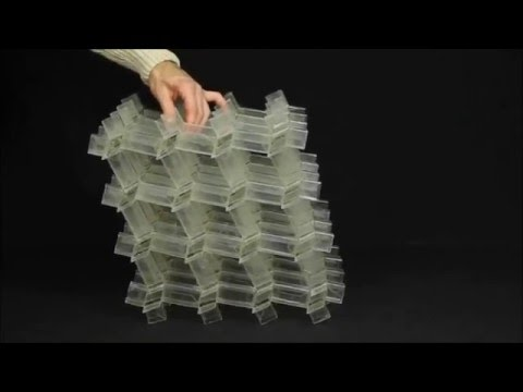 A three-dimensional actuated origami-inspired transformable metamaterial with multiple degrees