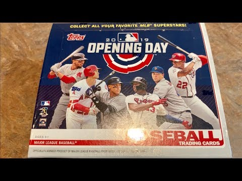NEW RELEASE!  2019 TOPPS OPENING DAY!