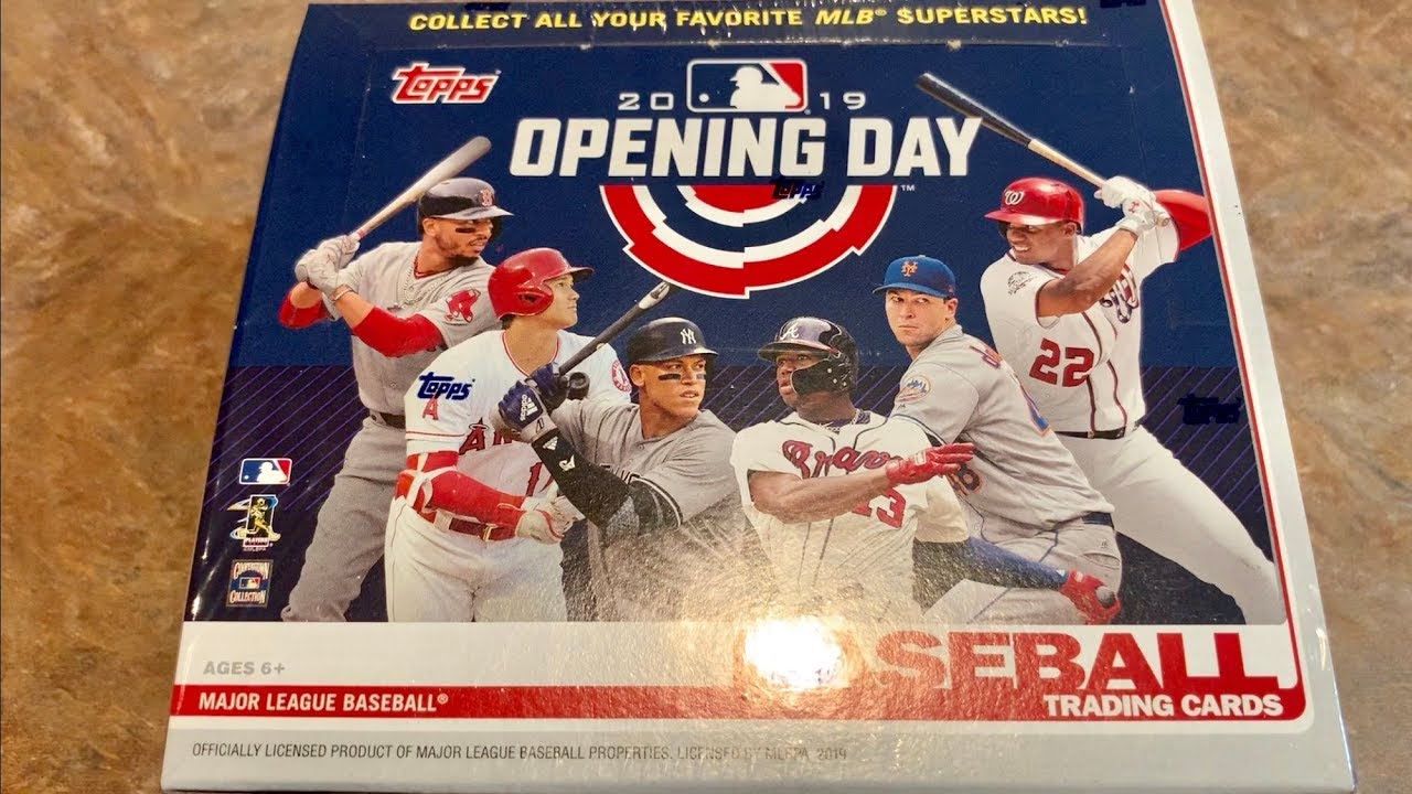 New Release 2019 Topps Opening Day