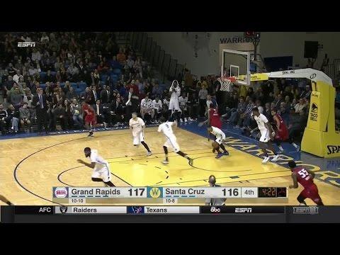 Highlights: Damian Jones (13 points)  vs. the Drive, 1/6/2017
