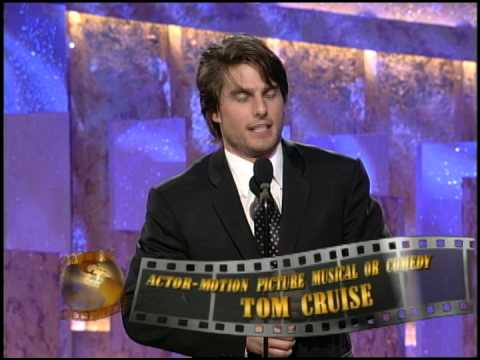 Tom Cruise Wins Best Actor in a Motion Picture Musical or Comedy  Golden Globes 1997