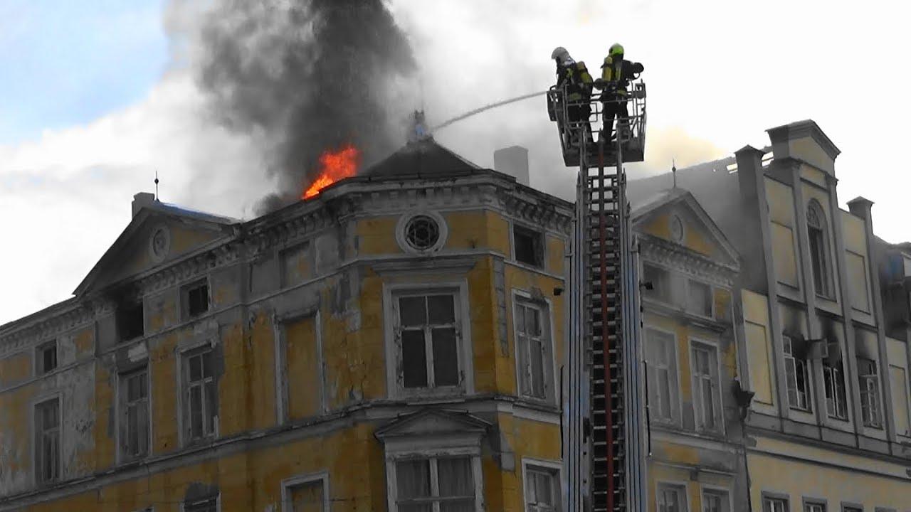 Großbrand Wismar