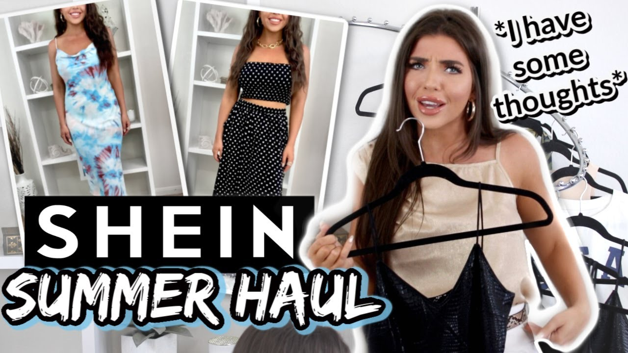 HUGE SHEIN TRY ON HAUL | Summer 2020 Shein Clothing Haul *NOT SPONSORED* | SheIn Honest Review