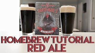 Homebrew Tutorial: Grain to Glass - Red Ale - Let's Have Some Beer Episode 87