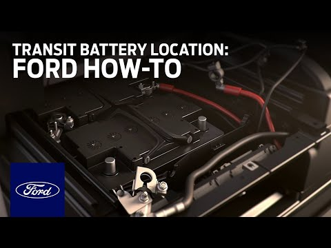 Transit Battery Location   Ford How-To   Ford