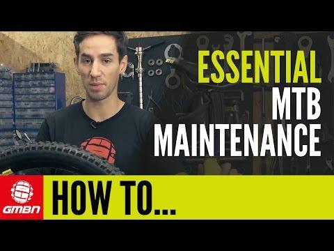 GMBN's Essential Mountain Bike Maintenance Tips