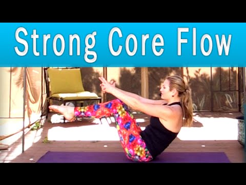 Yoga Flow Workout ~ all levels ~ with Anna Hanson (33 min)
