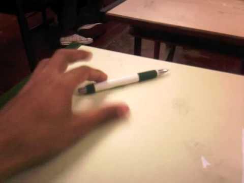 a caneta sumiu kkk