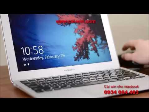 Cài win 8, cài win 10 cho macbook pro macbook air ở TPHCM | Windows Center