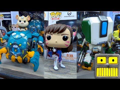 Overwatch Funko Pop Vinyl Figures At The 2019 New York Toy Fair