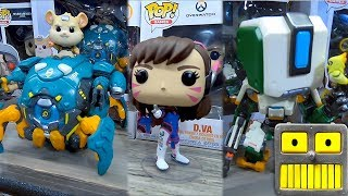 Overwatch Funko Pop Vinyl Figures At The 2019 New York Toy Fair