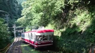 【前面展望】南海鋼索線(高野山ー極楽橋)