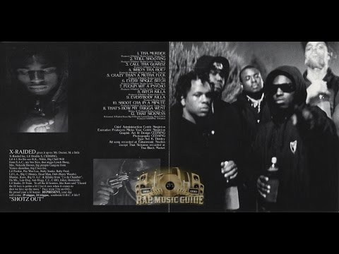 X-Raided - Psycho Active [1992 - Full Album]