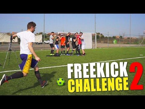 ⚽ FREEKICK CHALLENGE 2 w/ IlluminatiCrew
