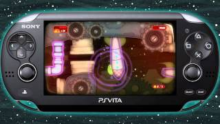 Teaser for PS Vita game Mutant Blobs Attack