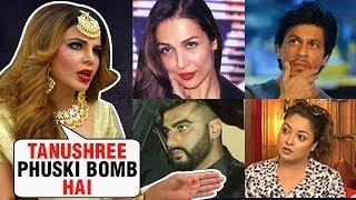 Rakhi Sawant INSULTS Tanushree, Arjun - Malaika, Priyanka-Nick, SRK, Aamir | Diwali 2018 | EXCLUSIVE