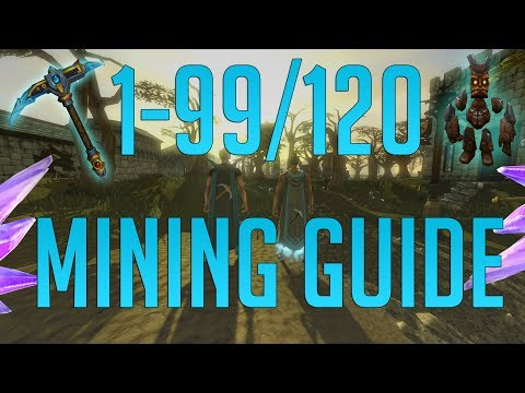 Runescape 3 - 1-99/120 Mining guide 2019