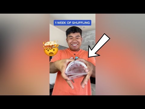 The Evolution of Shuffling Cards!! - #Shorts