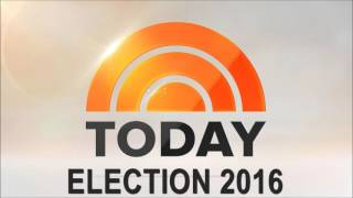 NBC TODAY - ELECTION 2016 THEME