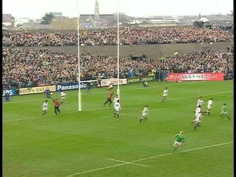 Ireland vs England Rugby 1993