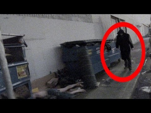 Dark Angel Caught On Camera: Weird Ghost Or Supernatural Entity?