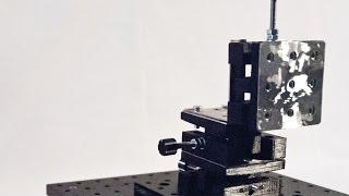 Low-Cost XYZ Microscopy Stage