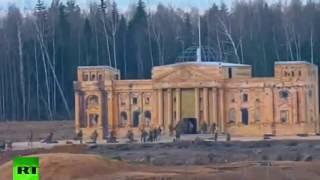 Реконструкция штурма Рейхстага (сюжет RT + Маски-шоу)