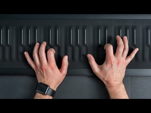Learning Game of Thrones' theme song on Roli's futuristic Seaboard Rise
