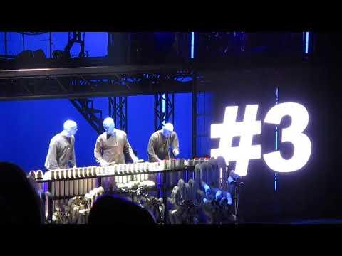 BLUE MAN GROUP - Frankfurt alte Oper - 07.04.18 - on Tour