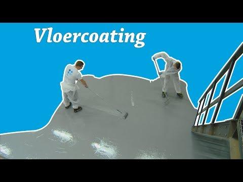 Epoxy flooring met de vloercoating van Polyestershoppen