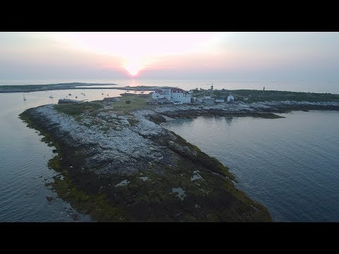 ELO - Alone In the Universe: The Isles of Shoals, Star Island, Oceanic House, New Hampshire by drone