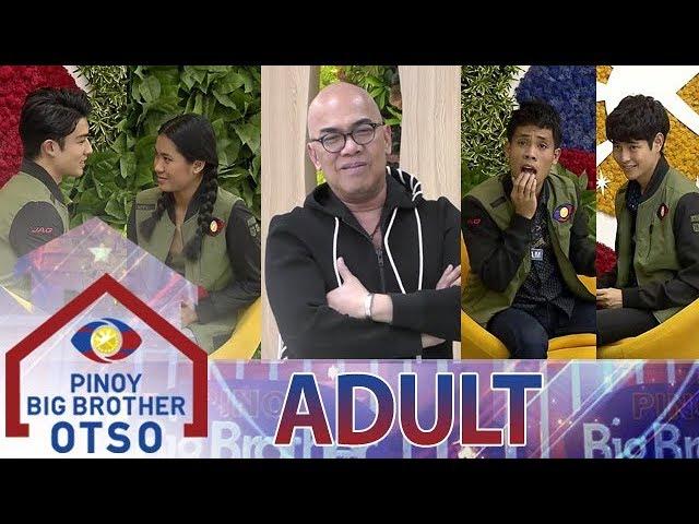 Adult Big 4, sumabak sa harapang tanungan ni Tito Boy | Day 82 | PBB OTSO #1