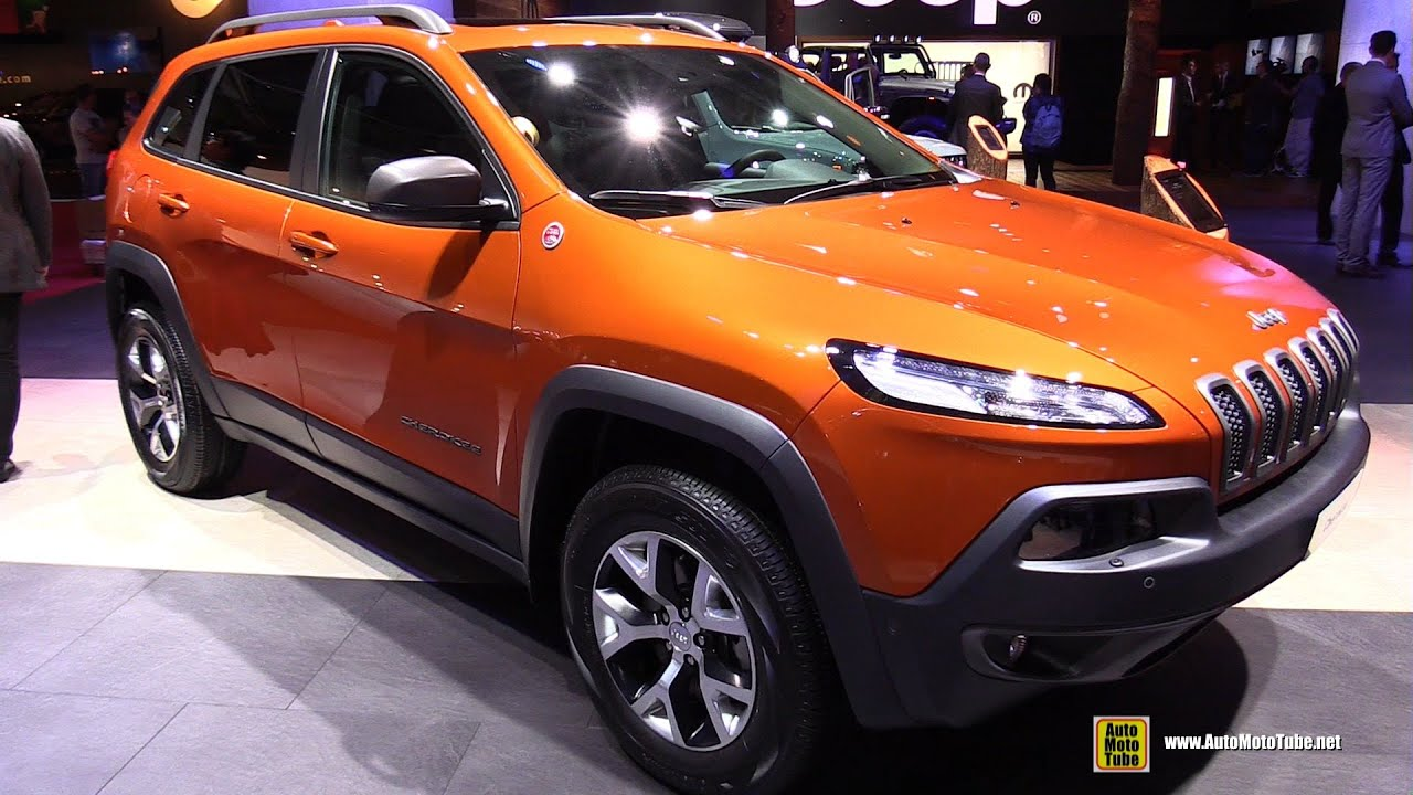 2015 jeep cherokee trail hawk 4x4 - exterior and interior