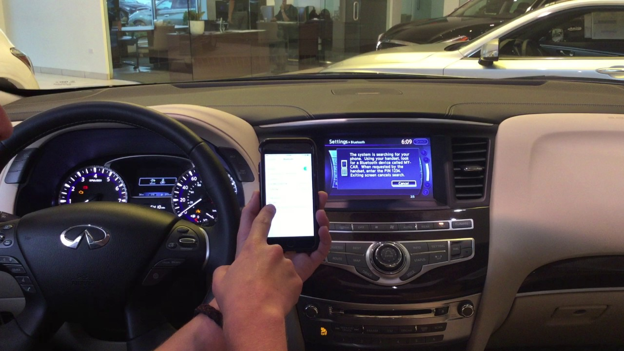 How To Pair An I Phone With The 2016 Infiniti Qx60
