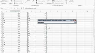Test t de Student en Excel 2013