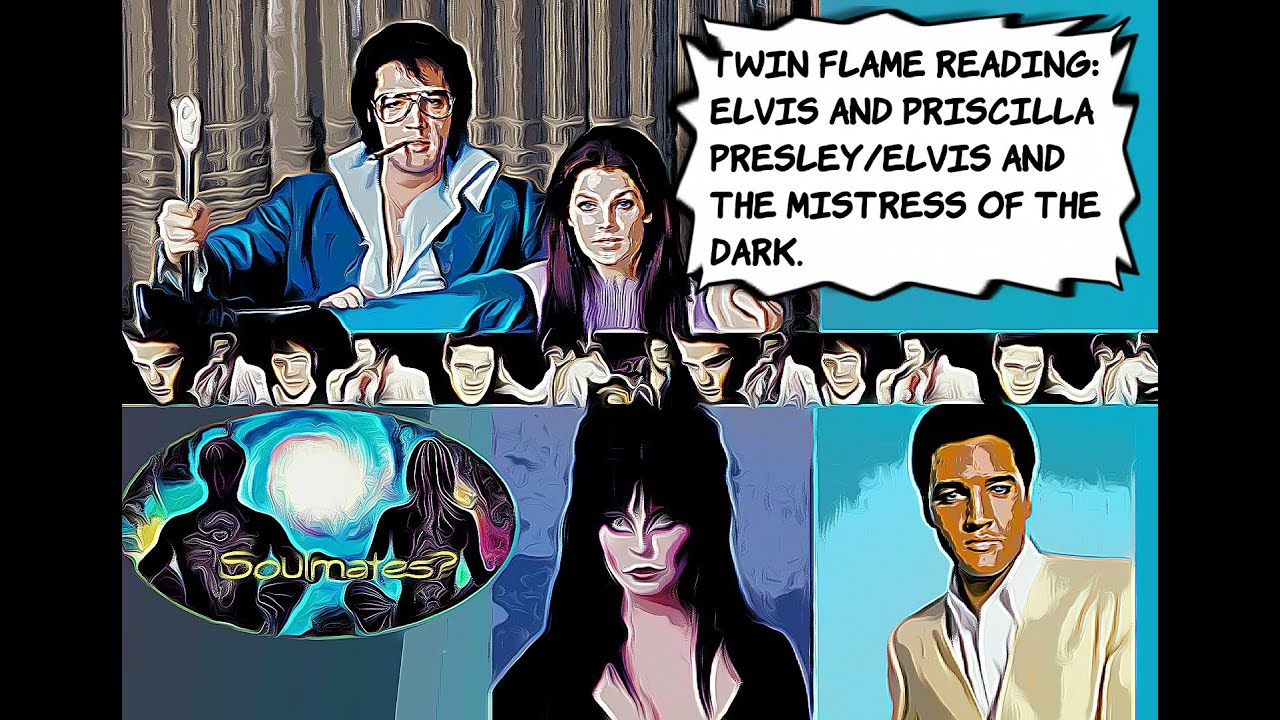 Twin Flame Astrology Reading Elvis and Priscilla Presley/Elvis ...