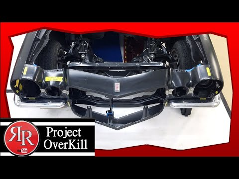 """1972 Camaro Project OverKill """"Rally Sport Split Bumpers Are On"""""""