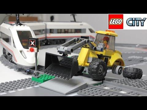 Мультфильм про поезд лего