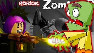 Сумасшедшие ЗОМБИ #2 Приключения мульт героя ROBLOX в игре Zombie Rush видео для детей от FGTV