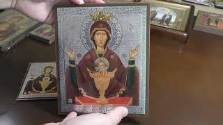 Икона Богородица Неупиваемая Чаша, Высоцкий монастырь г. Серпухов