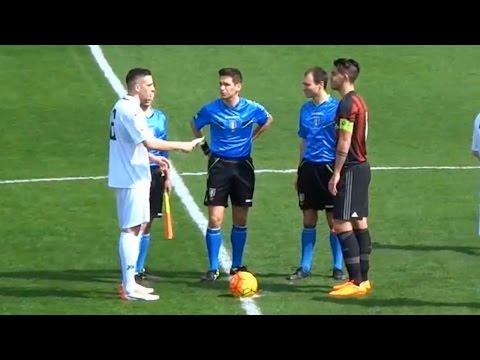Christian Maldini ● (AC Milan Youth) vs Novara |10/04/2016| HD