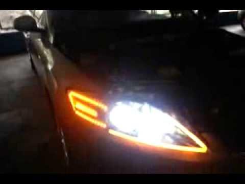 Mondeo Mk4 White Angel Eyes 20140216 133104mp4