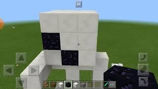 Как построить Мини Статую Скелета В МАЙНКРАФТЕ