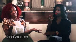 Funky Dineva & Kandi Burruss Talk about Kirk and Mary Jane Drama Love & Hip Hop Atlanta) (HD)