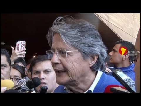 Preguntas sobre offshore incomodan a Guillermo Lasso