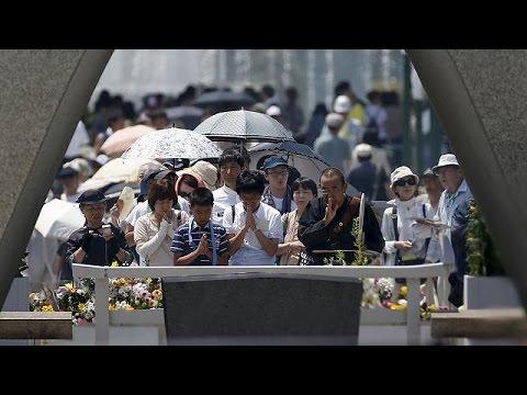 Jahrestag in Hiroshima: Japan ehrt Opfer des US-Angriffs