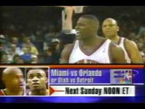 1998 NBA on NBC - Bulls vs. Knicks Ending